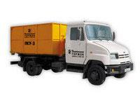 Погрузчик контейнерный универсальный ПКУ-3 ЗИЛ-5301