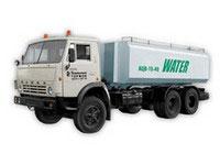 Цистерна для перевозки питьевой воды АЦВ-15-40 КамАЗ-53229